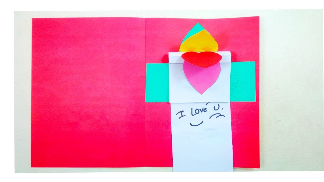 Valentines Day Card Cute Easy Greeting Cards Handmade