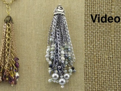 Video 13 Chain Tassel with Anne Dilker