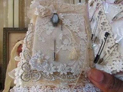 Vintage Lace Needle Book Part 1 SOLD