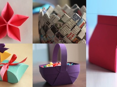 5 Best Paper Crafts | DIY Paper Craft | Ventuno Art