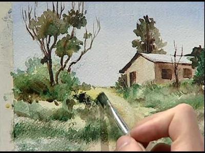 Arcadio paints the little house of his grandmother 3. La pequeña casa de mi abuela 3.