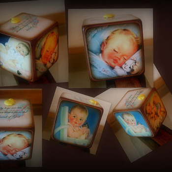 Baby Boy Decorative Block