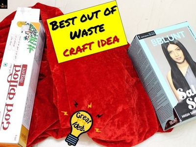 Best out of waste craft idea with empty cardboard boxes I Home Decor I Creative Diaries