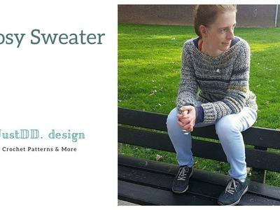 Cosy Sweater haken deel 1