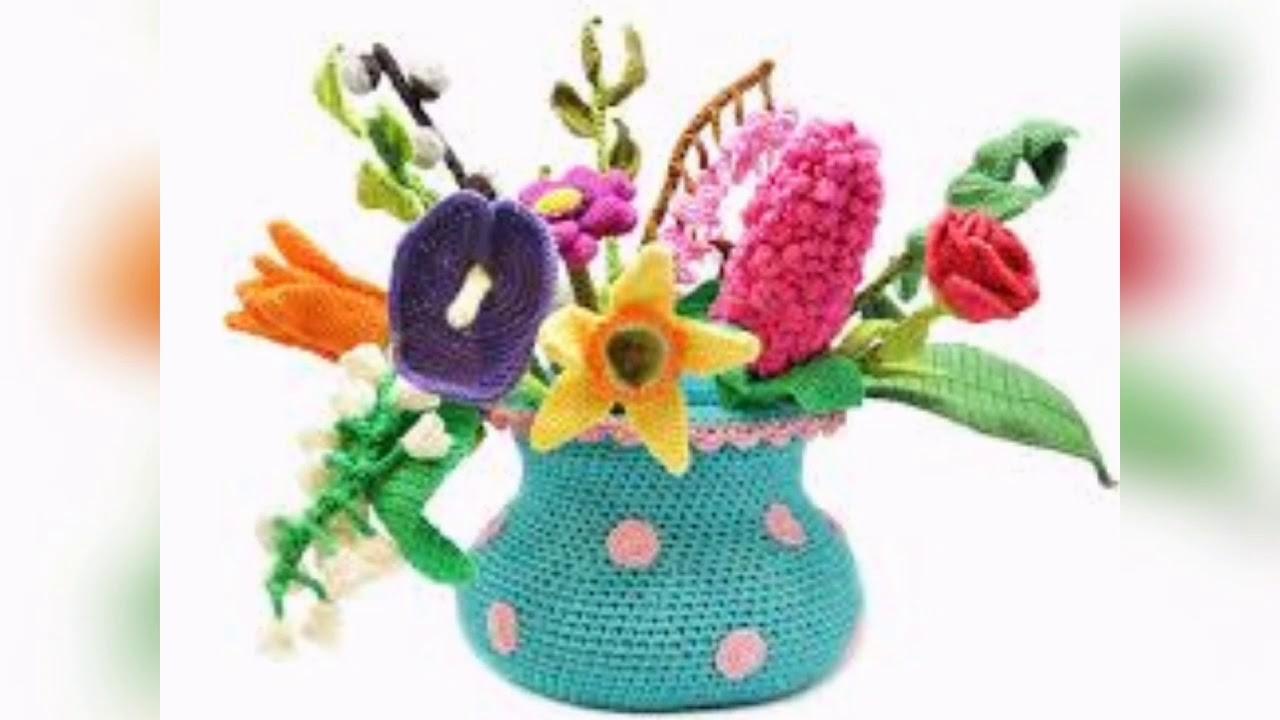 Crochet Beautiful Flowers Design