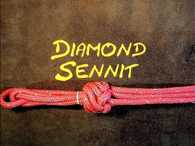Diamond Sennit Knot How to Tie the 6 Strand Diamond Sennit Knot - (Similar to Matthew Walker Knot)