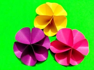 DIY Cute Paper Flowers-Paper flower making tutorial