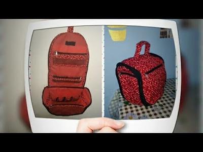 DIY : Organizer or Hanging bag Tutorial By Anamika Mishra. .