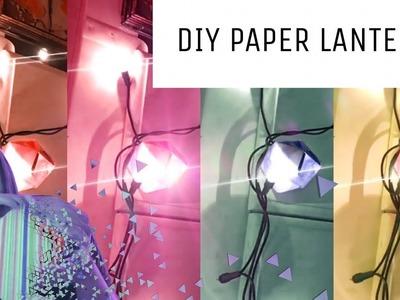 DIY PAPER LANTERN TUTORIAL!! ✨