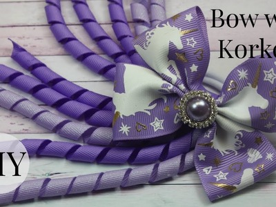DIY Pinwheel Bow with Korker Ribbon. Quick and Easy Bow