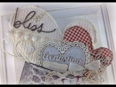 Diy Shabby Chic Altered Metal Envelope (DT Project for Reneabouquets)