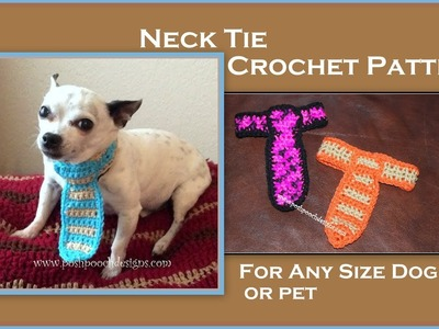 Dog Neck Tie Crochet Pattern