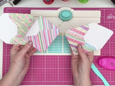 Envelope punch board review and quick tutorial DIY!