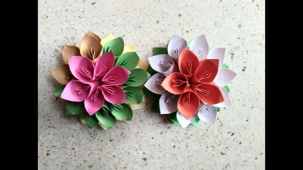 Flower bouquet easy diys paper flower bouquet kraft world easy flower bouquet easy diys paper flower bouquet kraft world easy paper craft izmirmasajfo