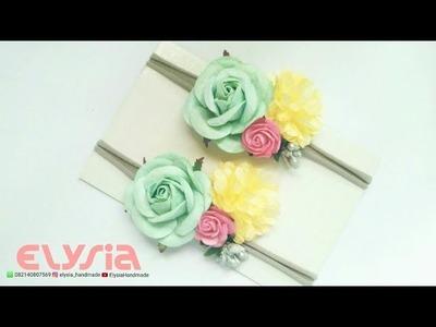 Flowers Headband Ideas   DIY by Elysia Handmade