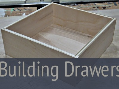 How to Build Drawers - Workstation Part 2