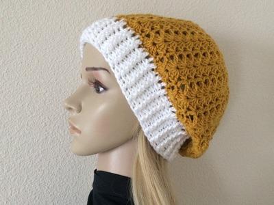 How To Crochet A Hat, Lilu's Handmade Corner Video # 232