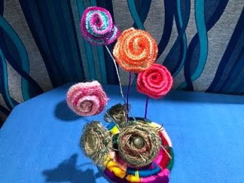 HOW TO KNIT FLOWER