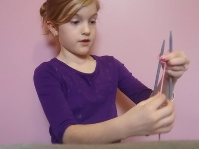 How to knit knitting instructions for beginners basic kids easy learning video