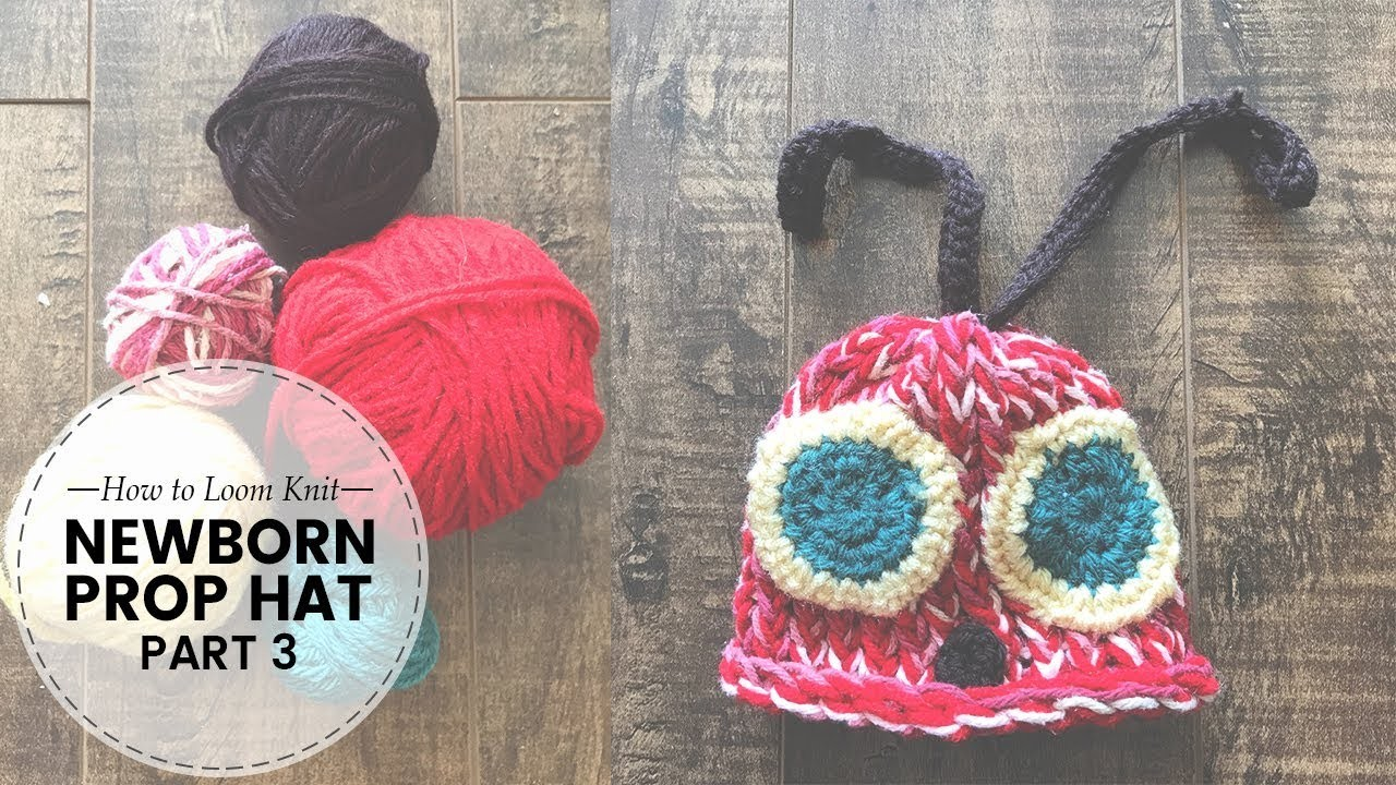"""How to Loom Knit for Beginners:""""Very Hungry Caterpillar""""Baby Cocoon Tutorial 3.5   Last Minute Laura"""
