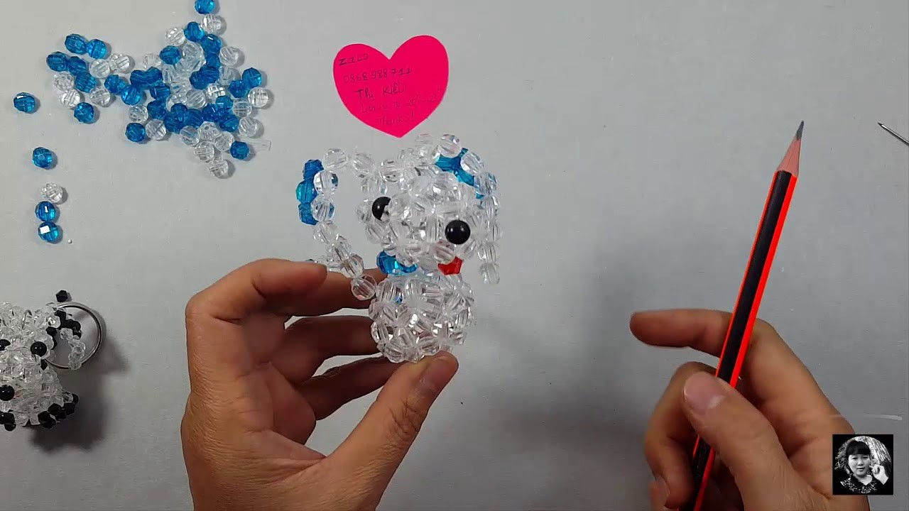 How to make a beads dog (3.3)