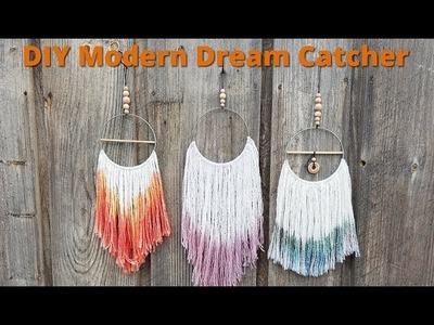 How to Make a Modern DIY Dream Catcher
