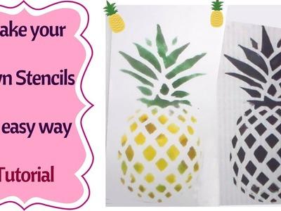 How to make a Stencil    Tutorial