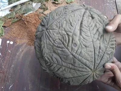 How to make beautiful bonsai pot at home.