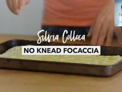 How to make easy,  no-knead Focaccia! Dairy free too!