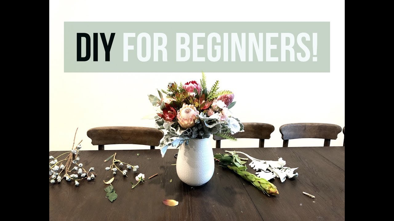 How to Make Floral Arrangements for Beginners 2018