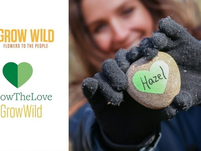 How to make heart plant markers with Hannah Grows