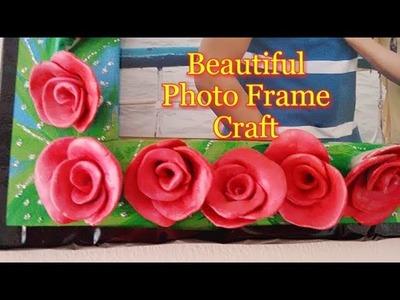 How to make photo frame with Shilpkar   Cardboard Photo Frame