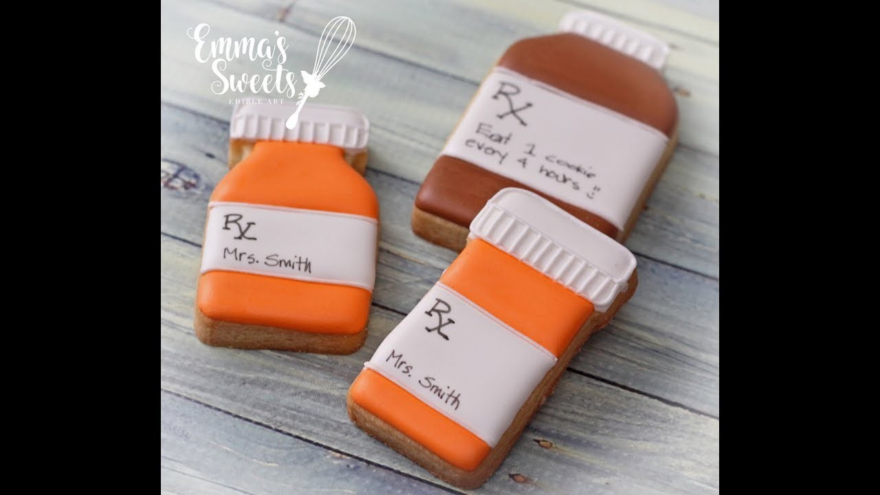 How to Make Pill Bottle Cookies by Emma's Sweets