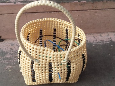 How To Make Wire Basket Handle Step By