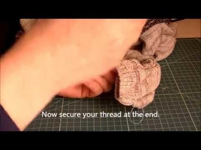 HOW TO SAVE YOUR FAVORITE SWEATER FROM STRECHED CUFFS.