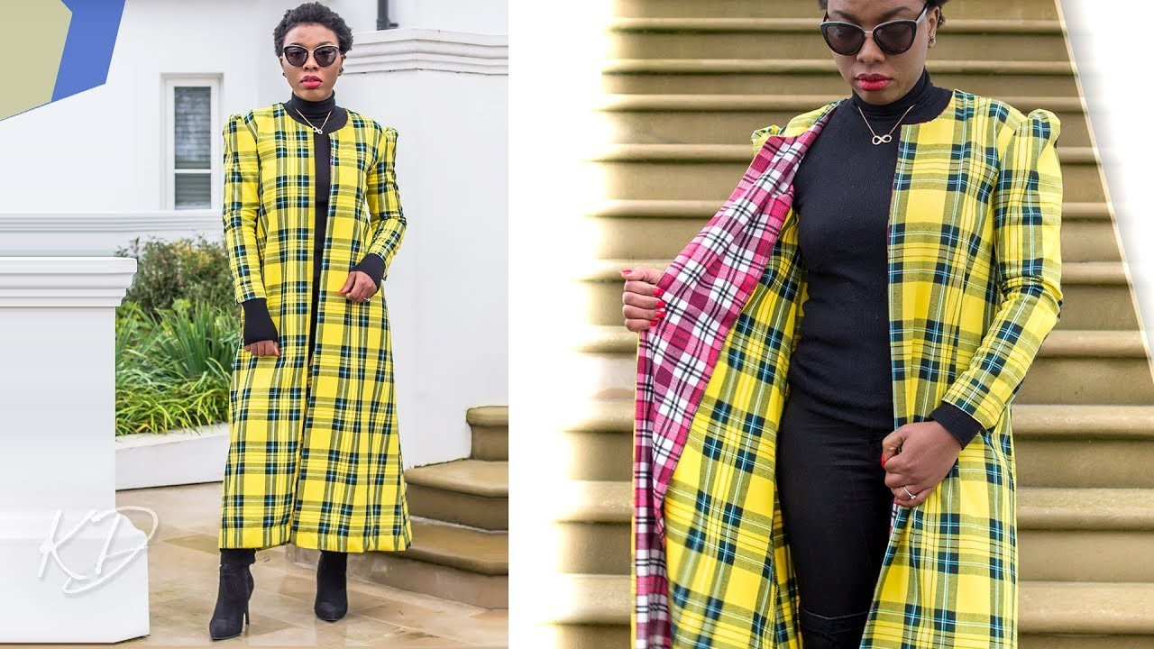 HOW TO: SEW A DUSTER COAT PT 1   KIM DAVE