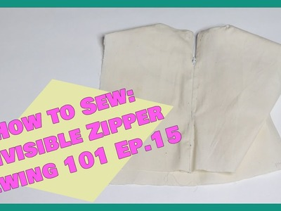 How to sew: Invisible Zipper   Sewing 101 Ep. 15  Crafty Amy