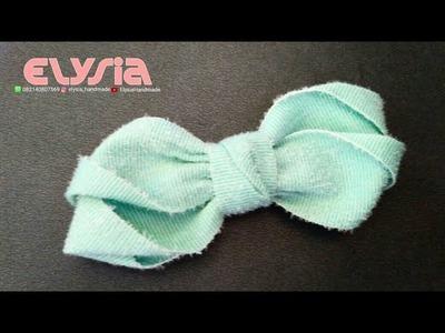 Korean Ribbon Bow   DIY by Elysia Handmade