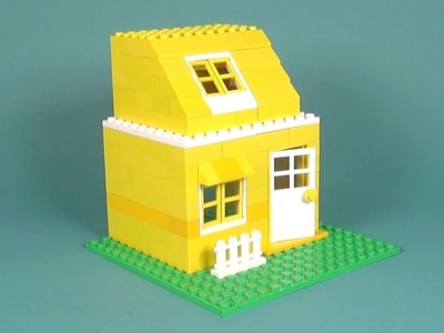 Lego House (024) Building Instructions - LEGO Classic How To Build - DIY