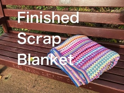 Ophelia Talks about Finished Scrap Blanket