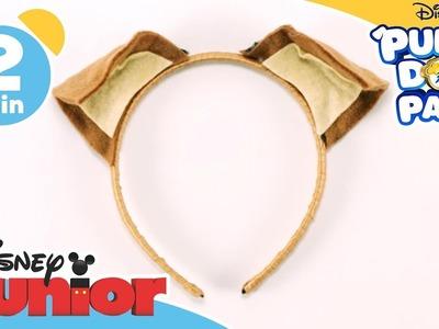 Puppy Dog Pals | Craft Tutorial: Rolly's Puppy Dog Headband | Disney Junior UK