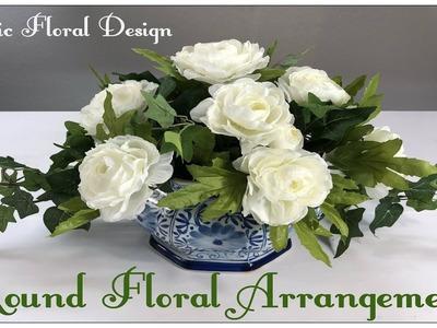 Tricia's Creations: Basic Floral Design Part 1: Round Floral Arrangement