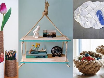 50 Rope Decor Ideas | Diy Craft Projects For The Home with Rope