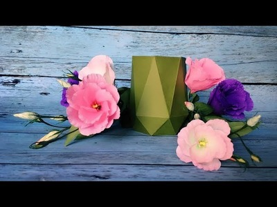 ABC TV | How To Make Vase From Paper - Origami Craft Tutorial #4