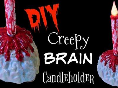 Brain Candleholder ~ Craft Klatch ~ Halloween DIY