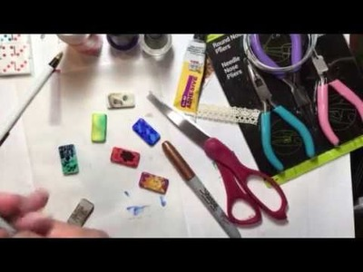 Build Your Stash and Craft, Wk 45, Decorated Dominoes and Diy Bales :)