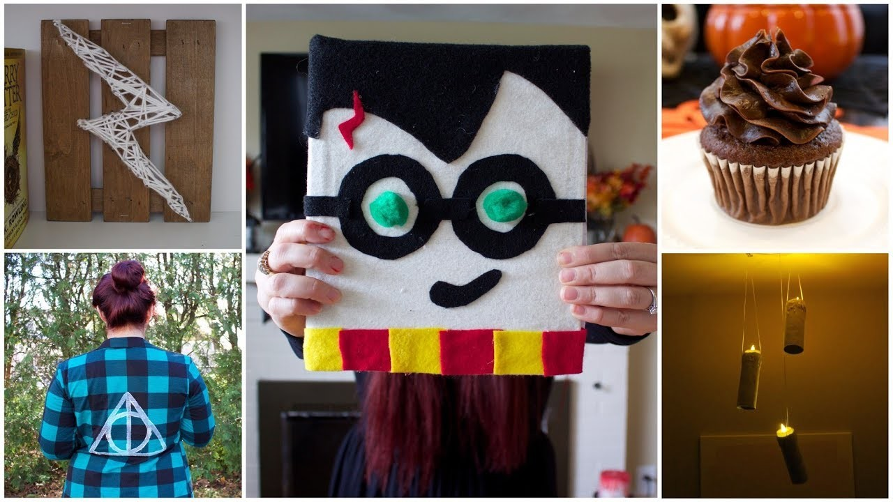Pinterest Crafts And Diy: CHEAP & EASY HARRY POTTER DIY CRAFT IDEAS, PINTEREST INSPIRED