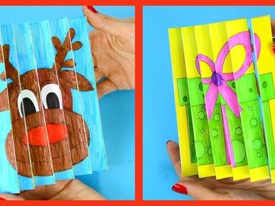 Christmas Agamograph Template Craft for Kids