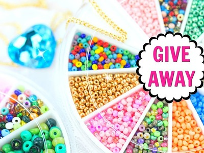 (CLOSED)INTERNATIONAL GIVEAWAY!(OPEN) DIY Jewelry Supplies Cool Craft Supplies(CLOSED)