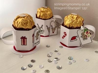 Craft fair idea mini cup Ferrero treat